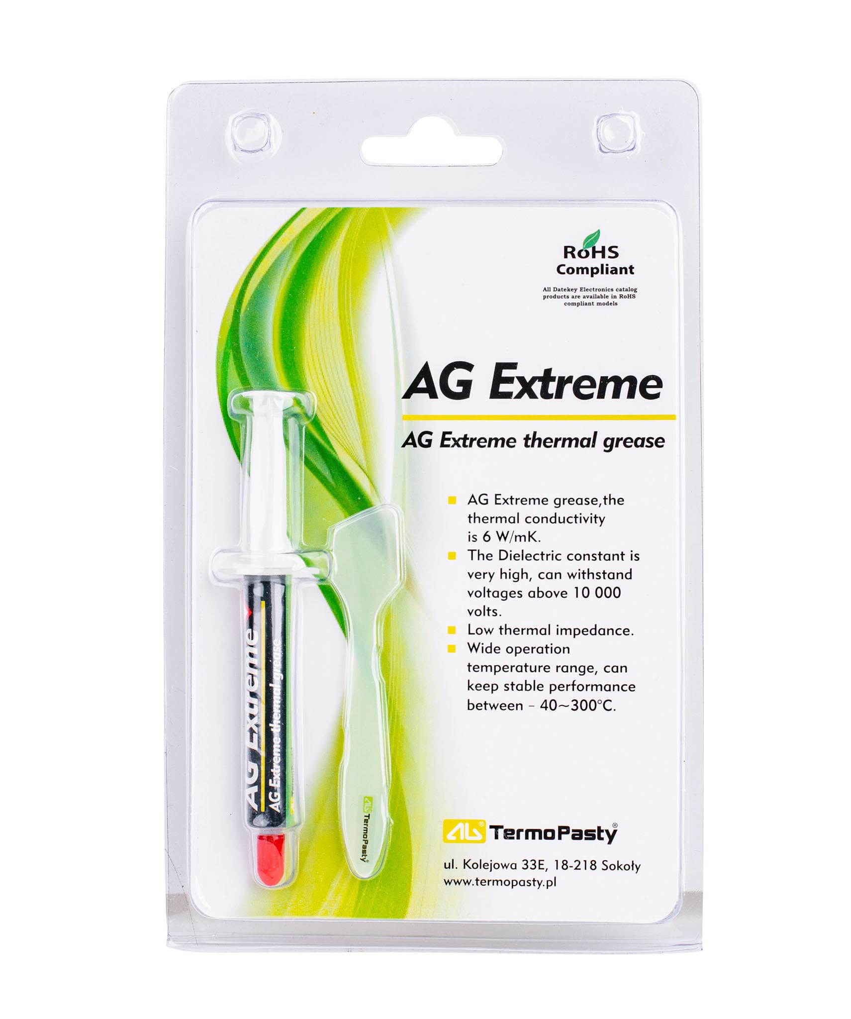 AG Extreme w strzykawce