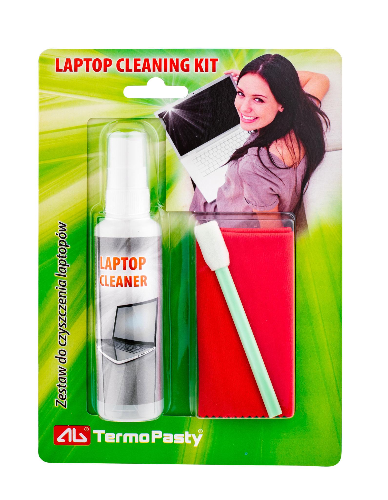 Zestaw czyszczący do laptopów