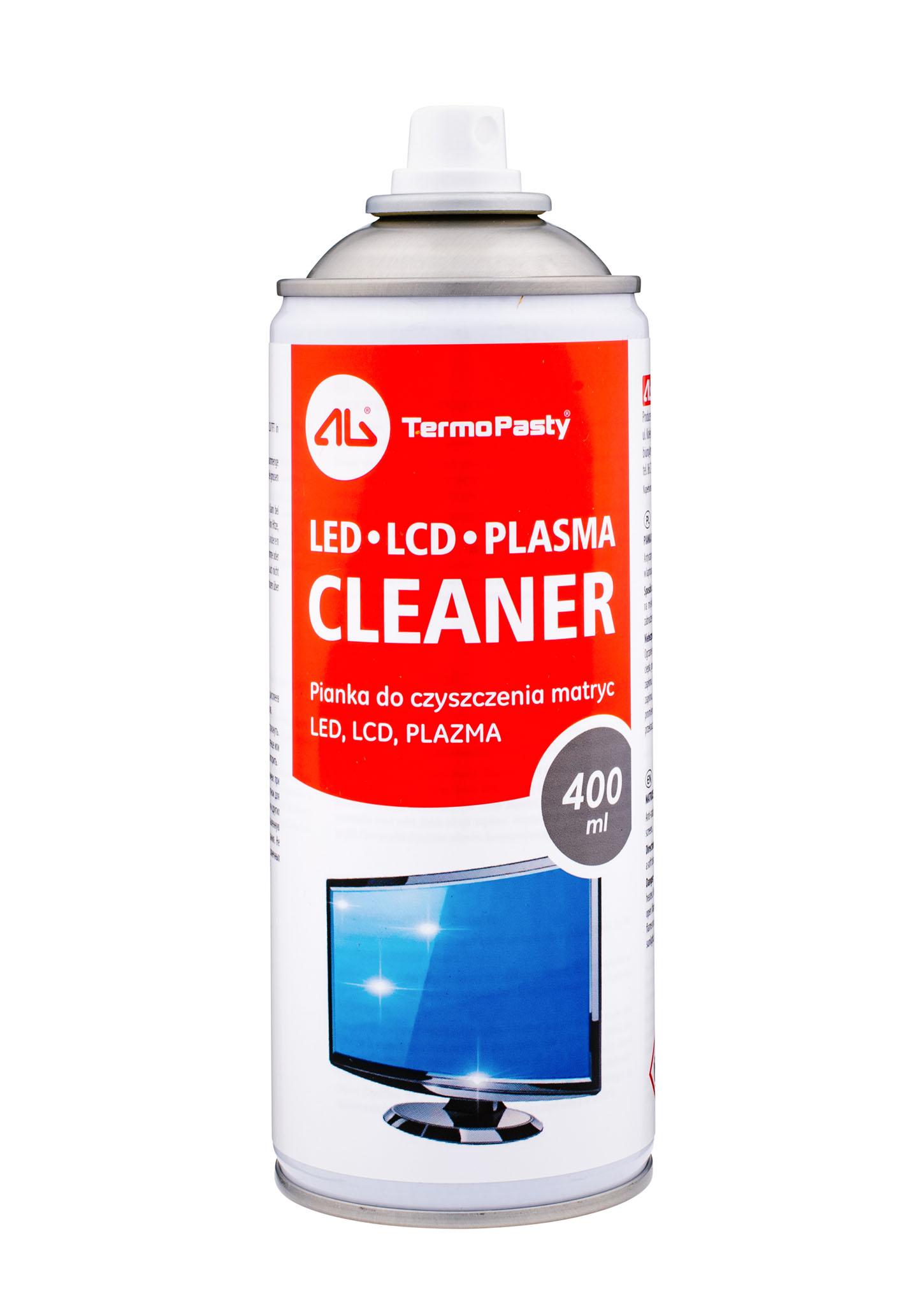 Pianka i płyn do czyszczenia matryc LCD/TFT