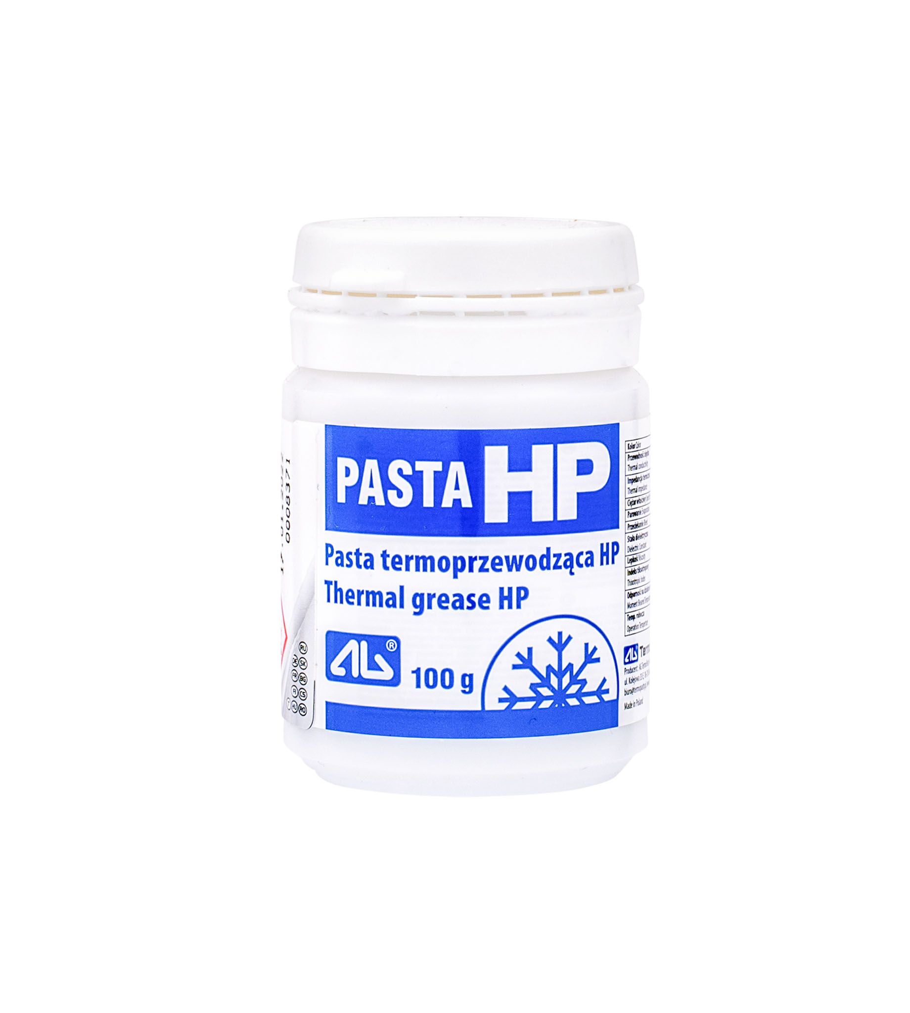 Pasta silikonowa HP