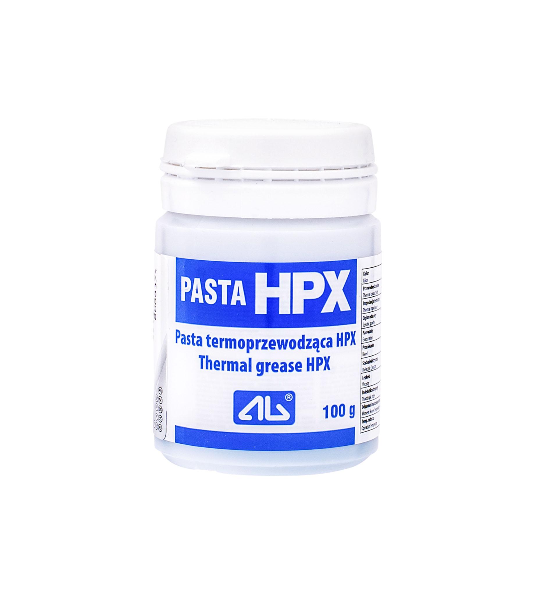 pasta silikonowa HPX