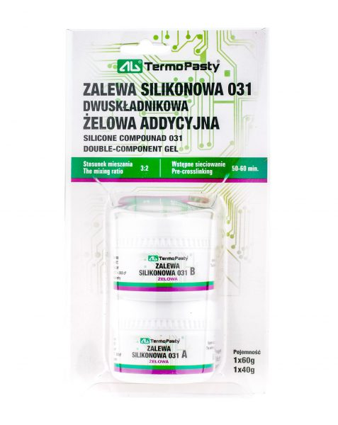 SILICONE COMPOUND 031 DOUBLE-COMPONENT GEL AG Termopasty