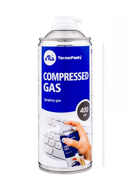 Compressed gas 400ml AG Termopasty